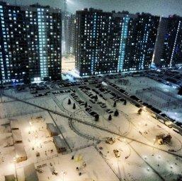 Мурино в снегу