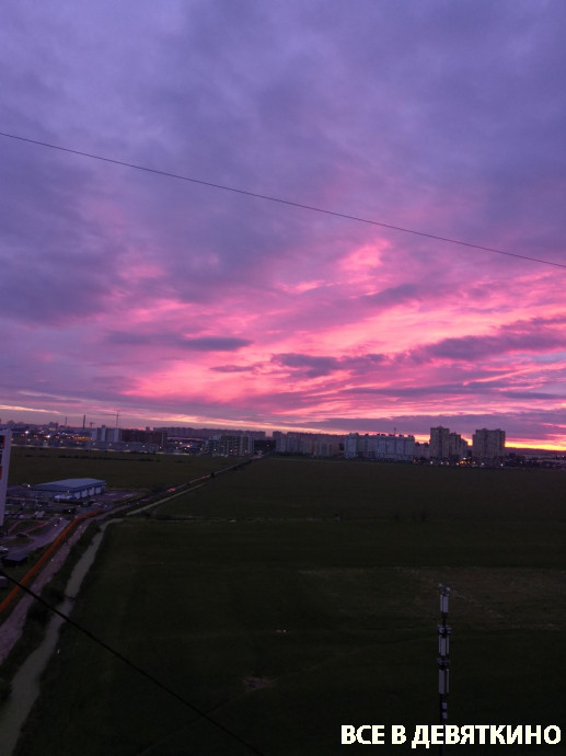 Закаты в Мурино